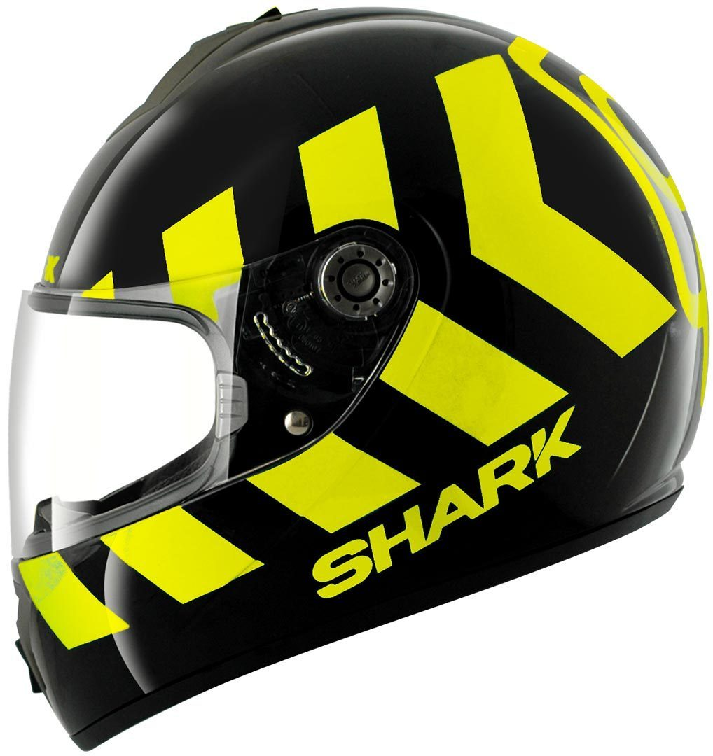 casque shark s600 no panic noir jaune sasie center moto. Black Bedroom Furniture Sets. Home Design Ideas
