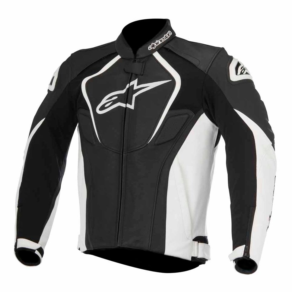 blouson alpinestars jaws 2017 noir blanc sasie center moto. Black Bedroom Furniture Sets. Home Design Ideas