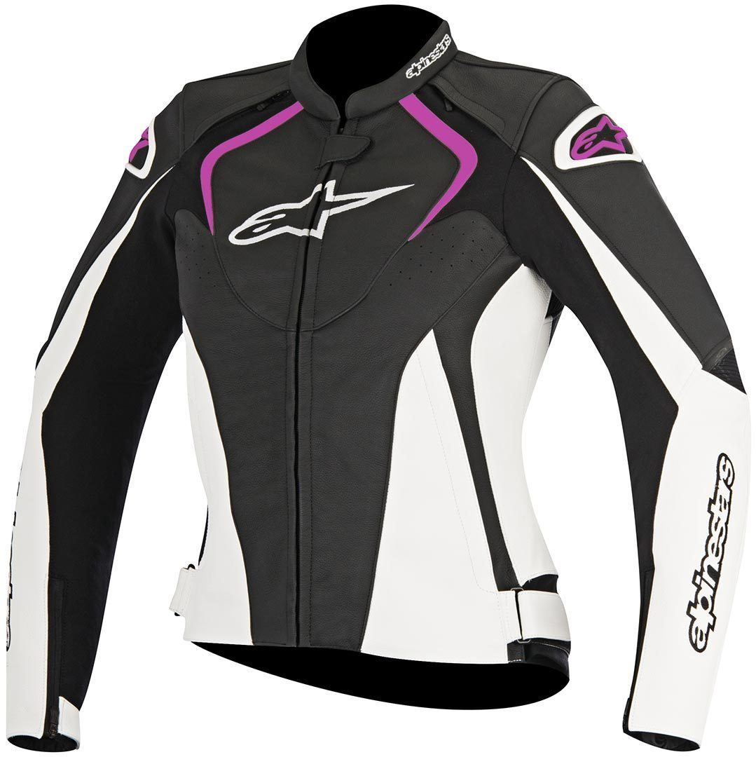 blouson alpinestars stella jaws noir fushia sasie center moto. Black Bedroom Furniture Sets. Home Design Ideas