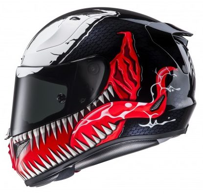 casque hjc rpha 11 venom marvel sasie center moto. Black Bedroom Furniture Sets. Home Design Ideas