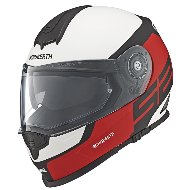 casque schuberth s2 sport elite rouge sasie center moto. Black Bedroom Furniture Sets. Home Design Ideas