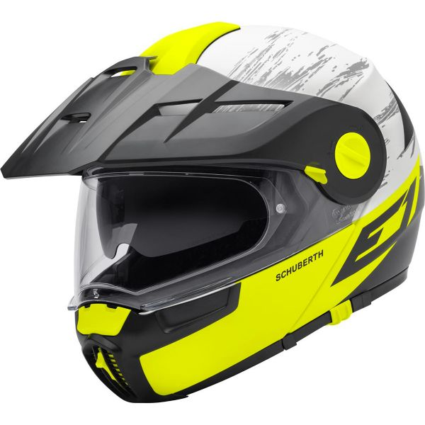 CASQUE SCHUBERTH E1 CROSSFIRE JAUNE