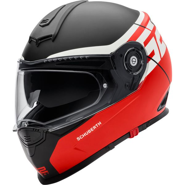 schuberth s2 sport rush red sasie center moto. Black Bedroom Furniture Sets. Home Design Ideas