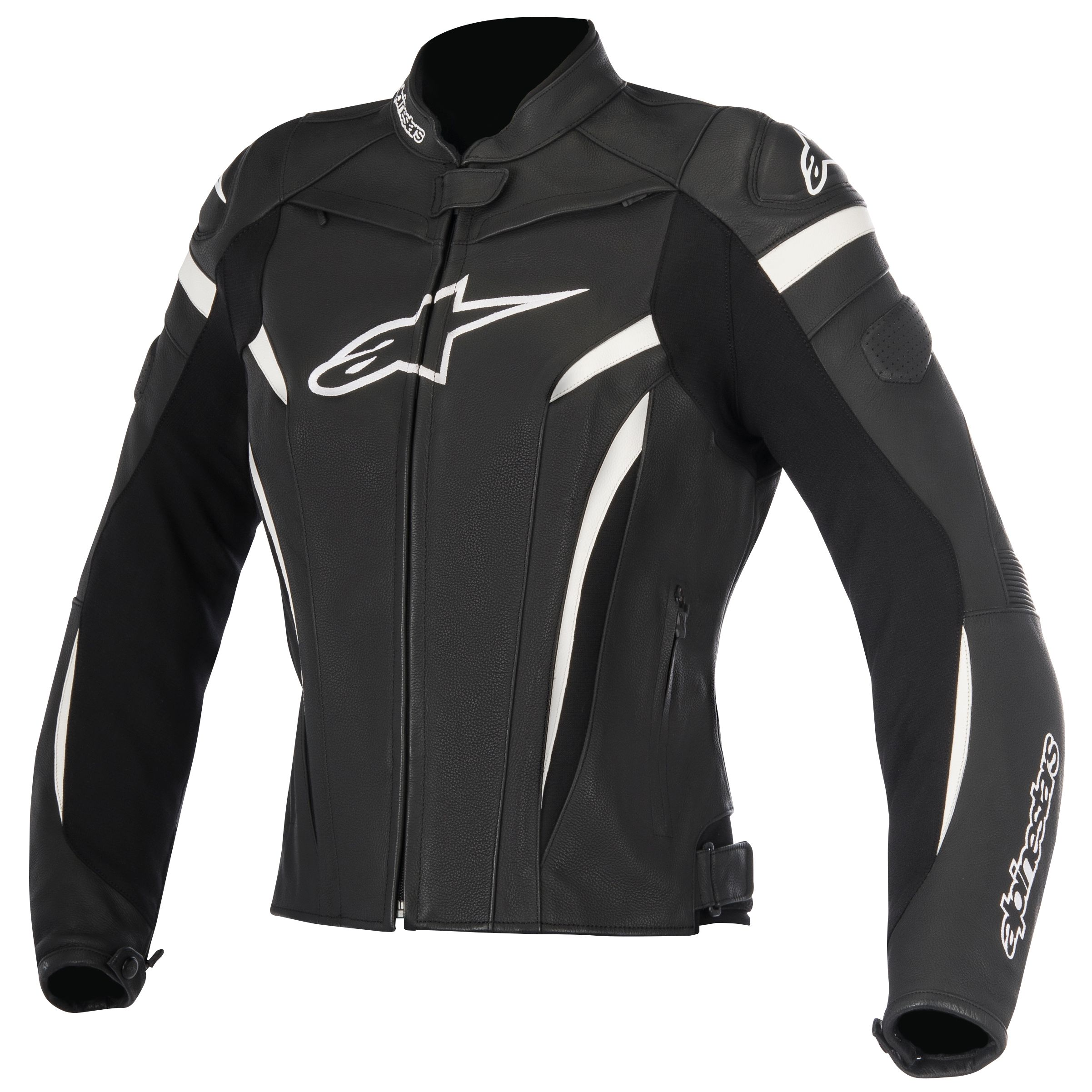 blouson alpinestars stella gp plus r v2 noir blanc sasie center moto. Black Bedroom Furniture Sets. Home Design Ideas