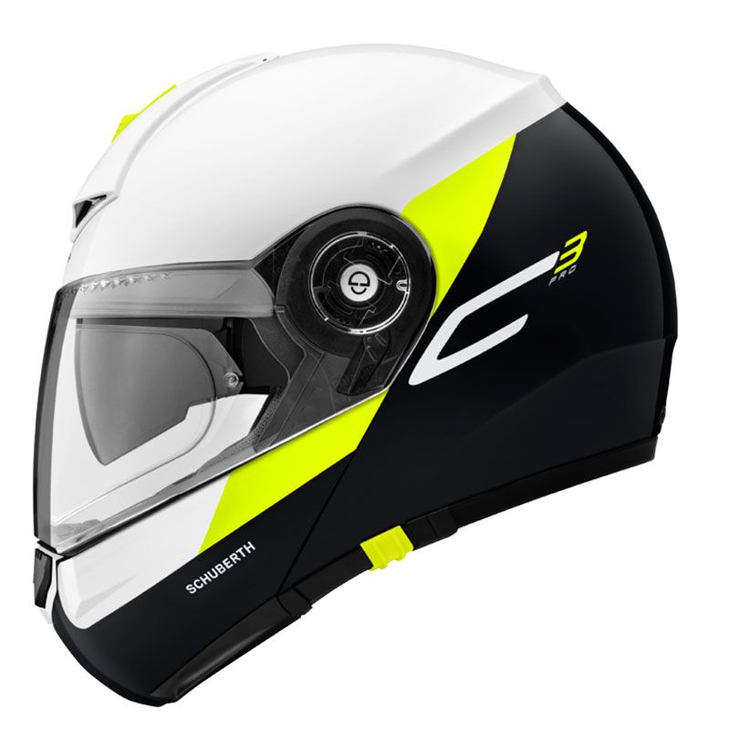 casque schuberth c3 pro gravity jaune fluo sasie center moto. Black Bedroom Furniture Sets. Home Design Ideas