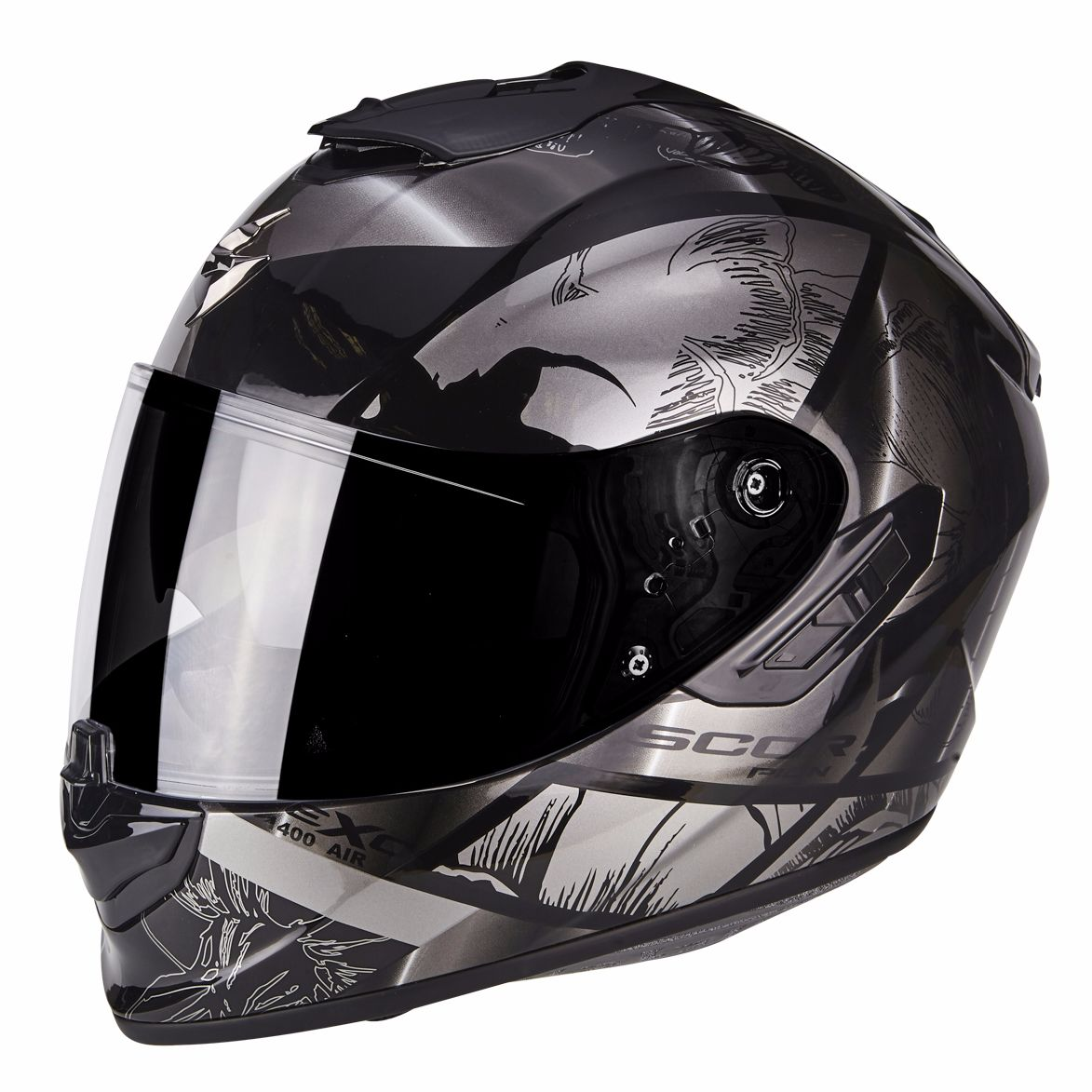 casque scorpion exo 1400 air patch sasie center moto. Black Bedroom Furniture Sets. Home Design Ideas
